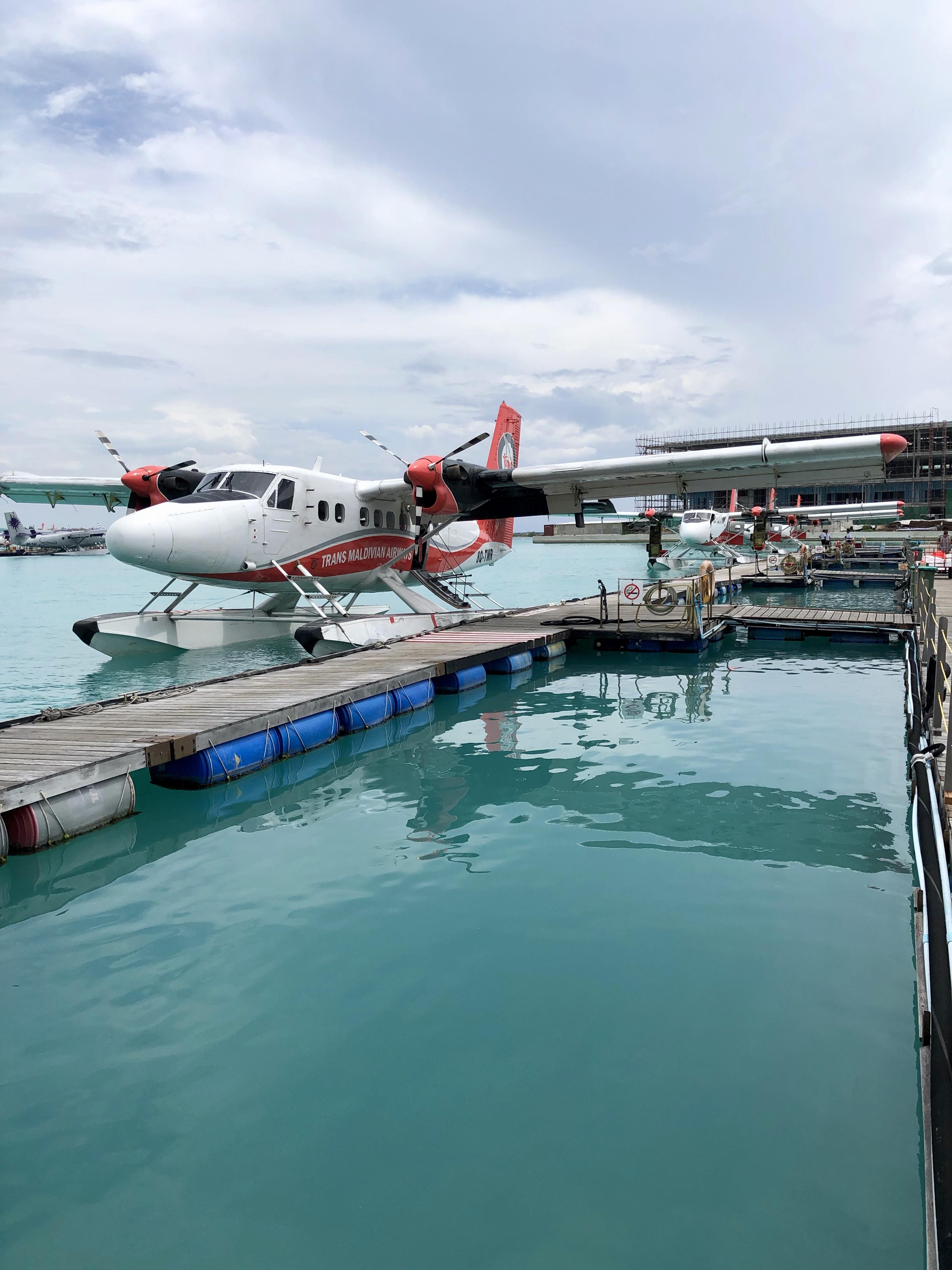 Conrad Maldives seaplane