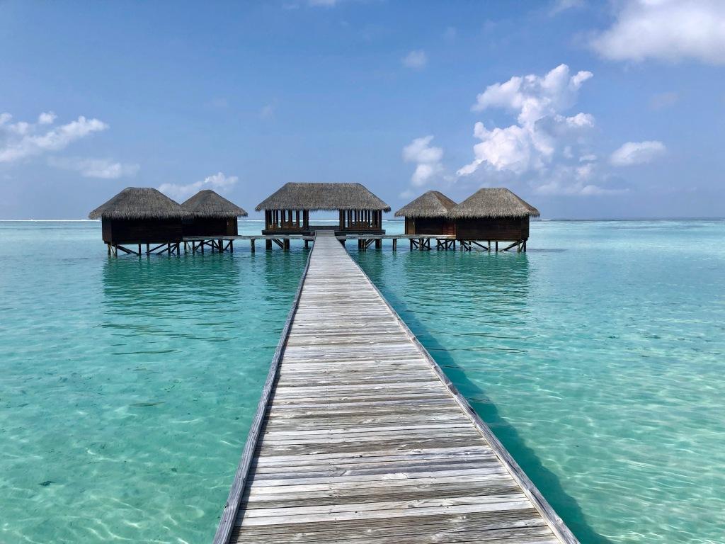 Conrad Maldives Rangali Island overwater spa