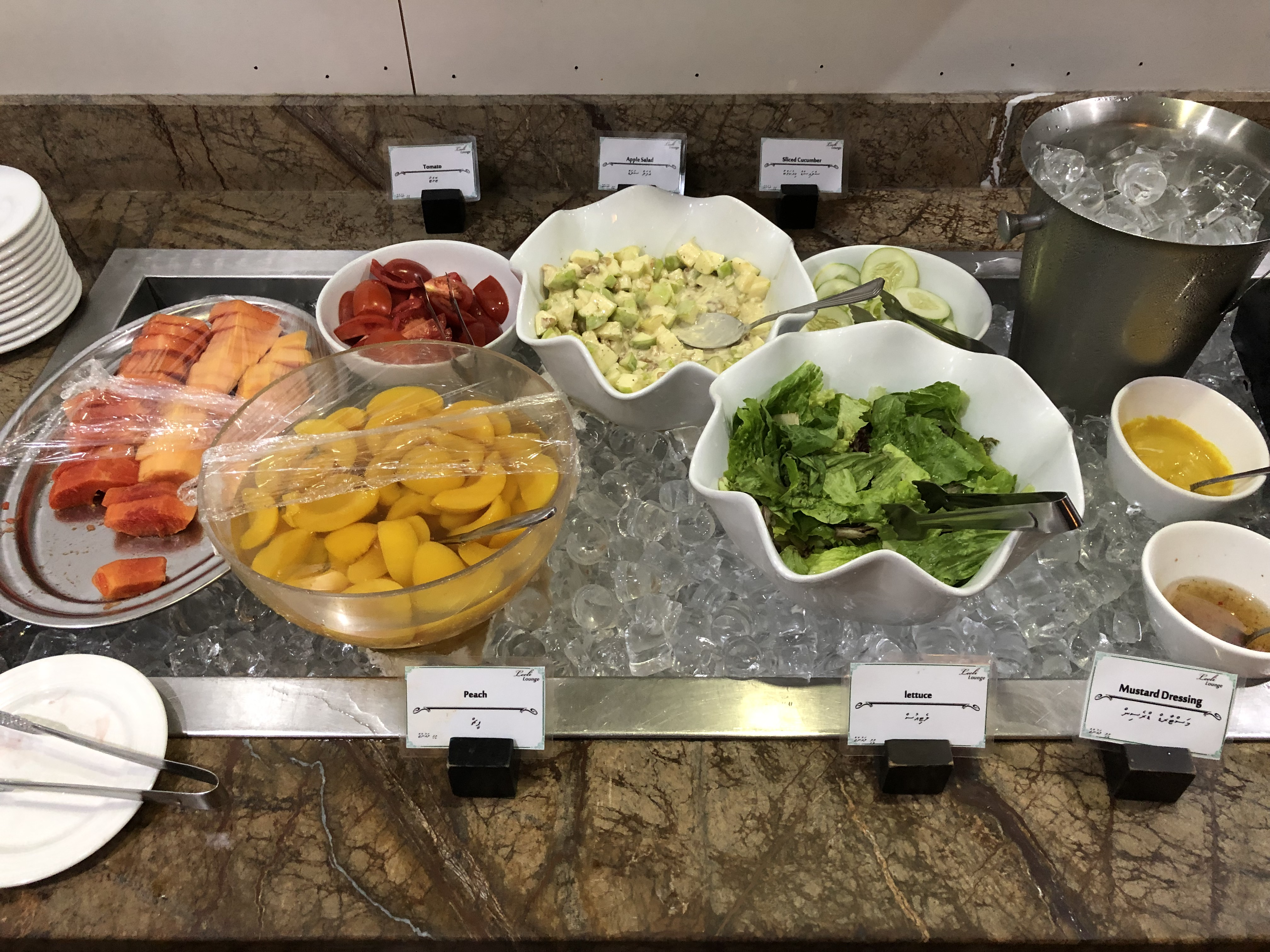 Leeli Lounge salad station