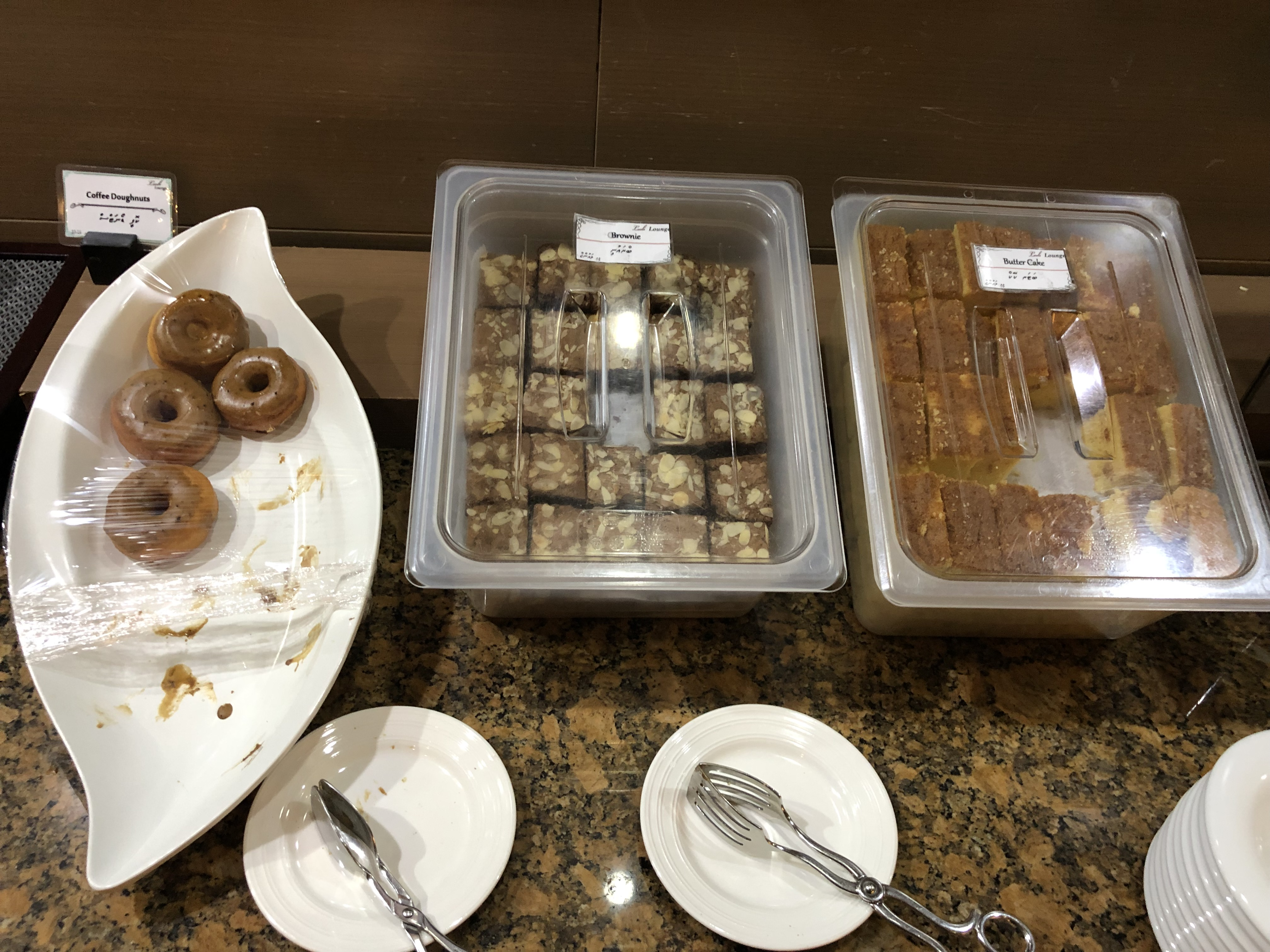 Leeli Lounge pastries