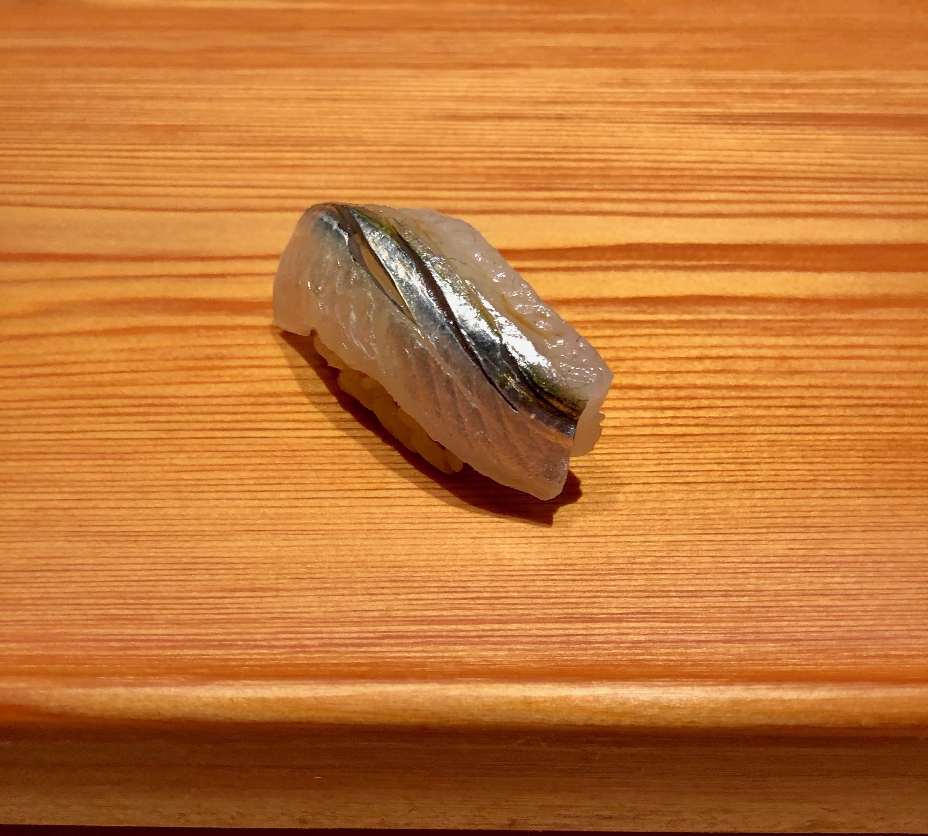 Sushi Shin horse mackerel