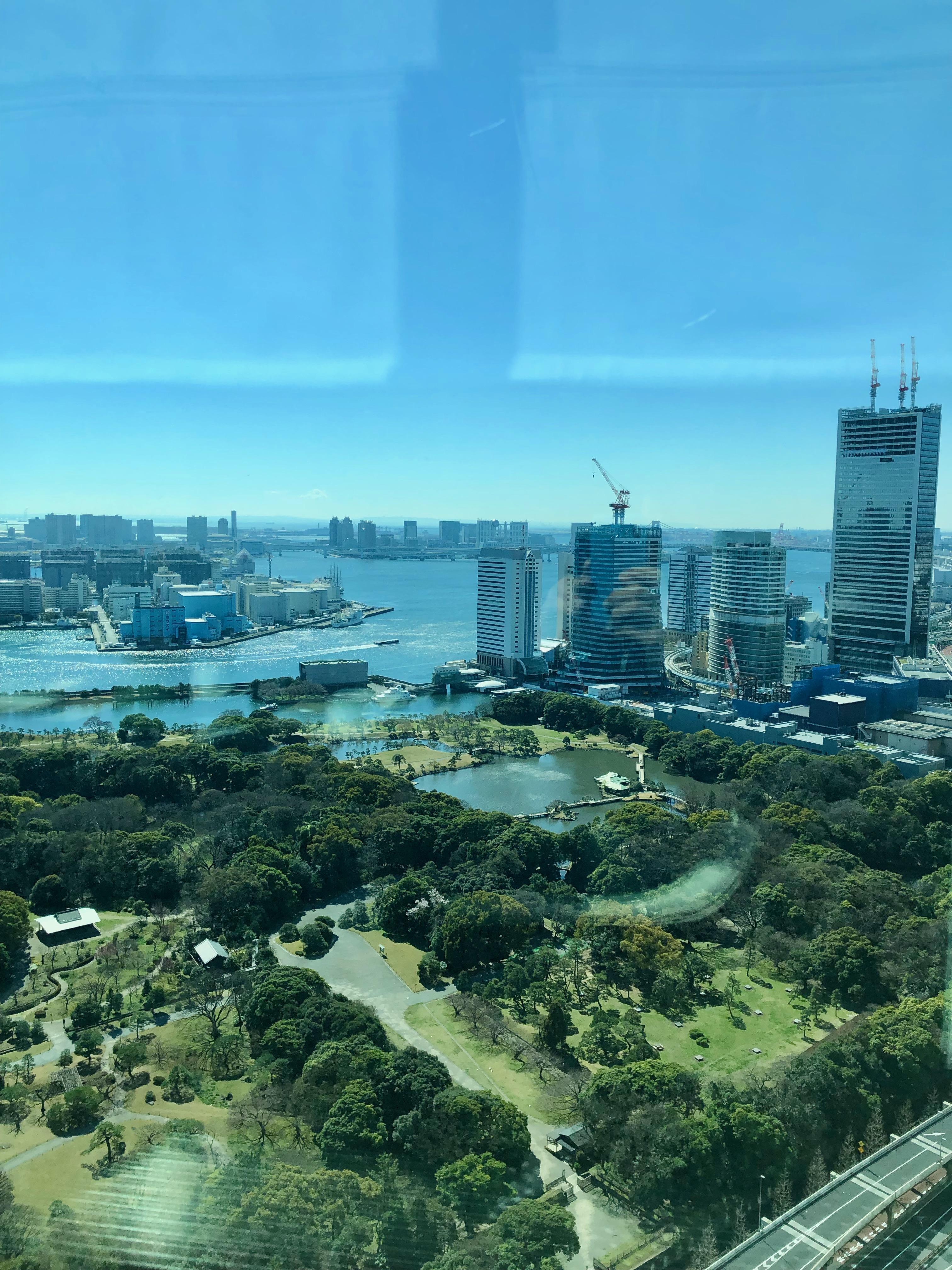 Conrad Tokyo Executive Lounge view