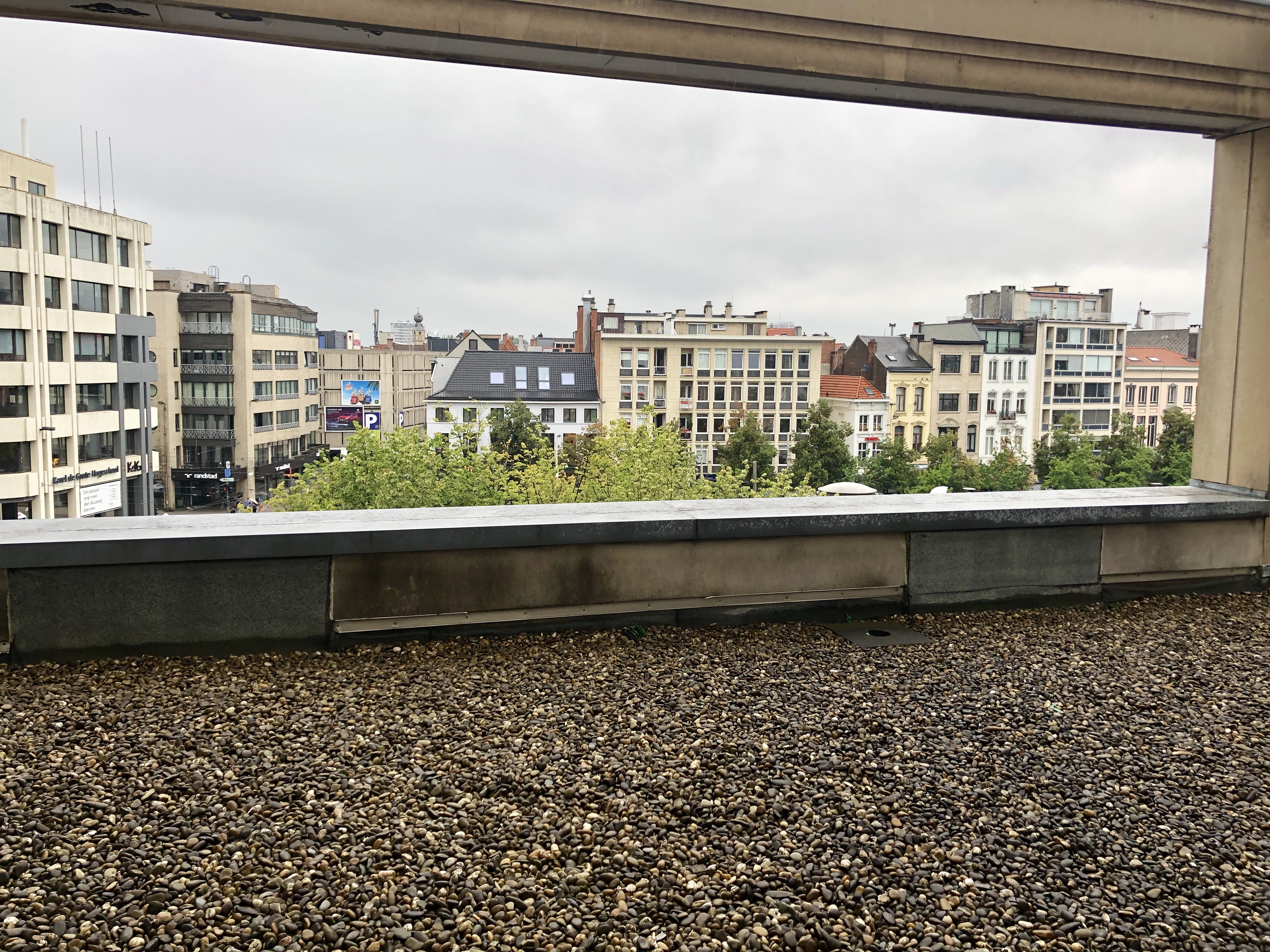 Hilton Antwerp Old Town Groenplaats Suite terrace