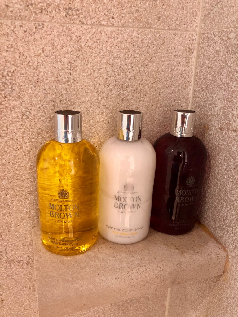Nakar Hotel Molton Brown bathroom amenities