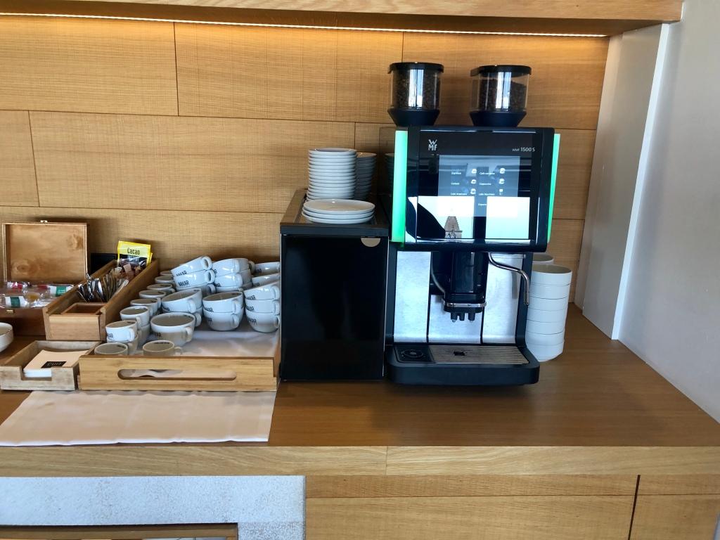 Nakar Hotel CUIT breakfast coffee
