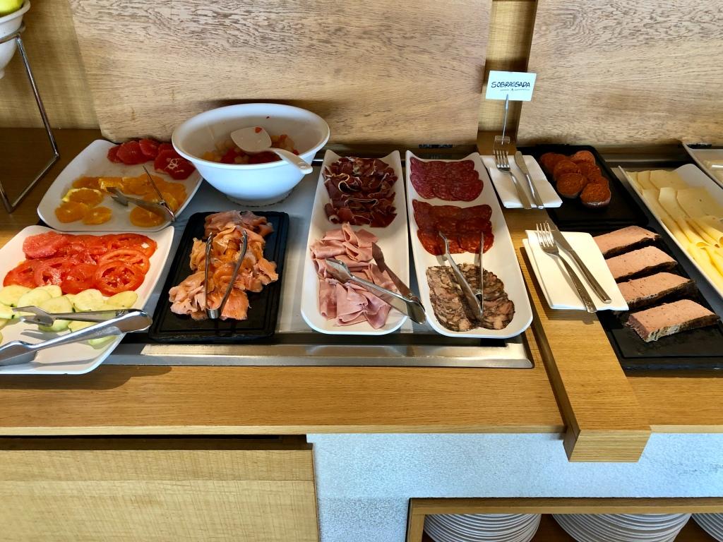 Nakar Hotel CUIT breakfast cured meats