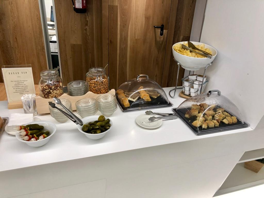 Sala VIP Formentor Palma de Mallorca nuts