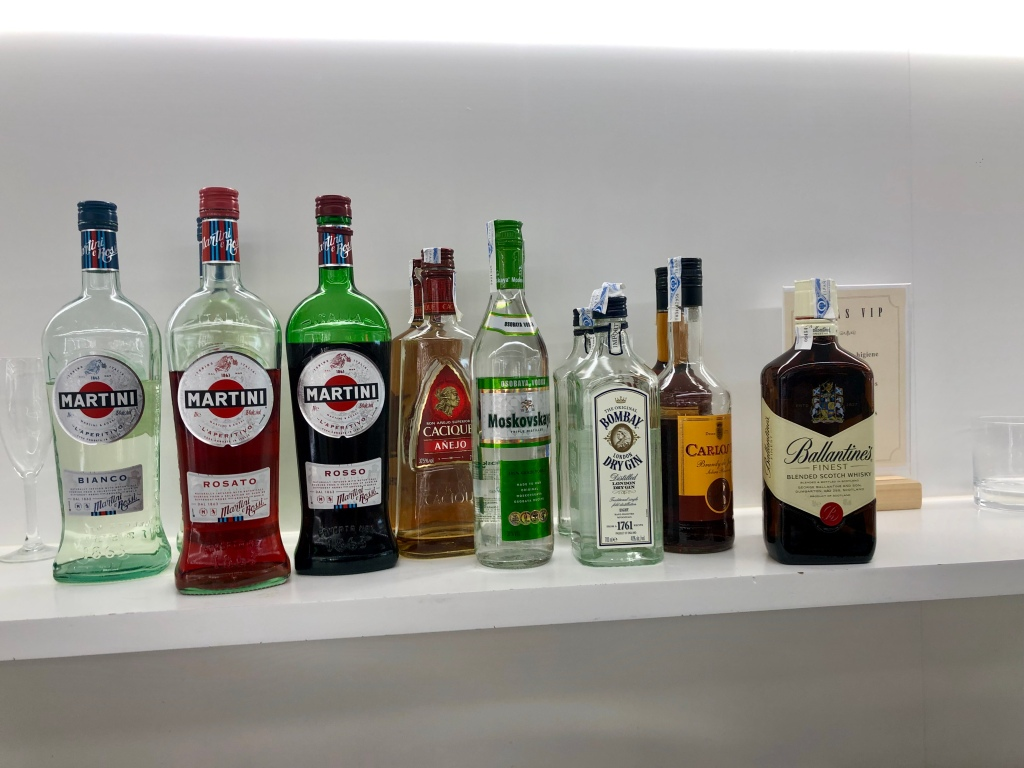 Sala VIP Formentor Palma de Mallorca hard liquor