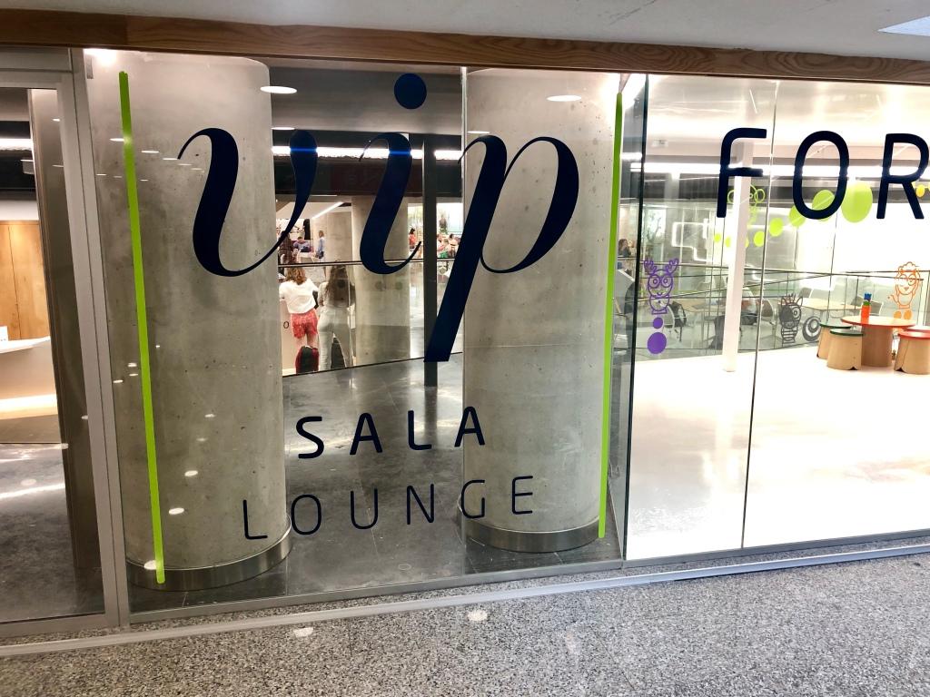 Sala VIP Formentor Palma de Mallorca lounge entrance