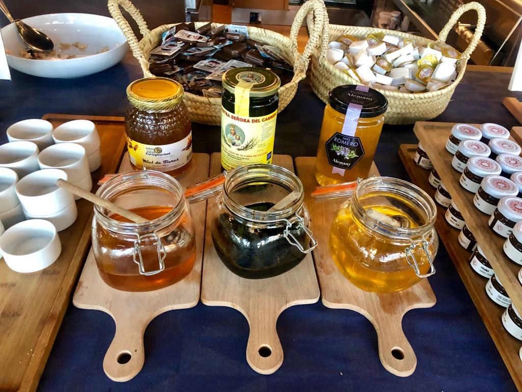 W Barcelona breakfast honey