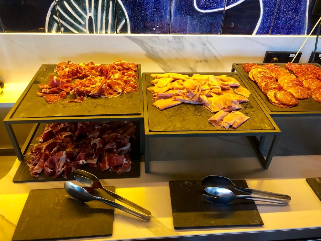 W Barcelona breakfast cured meat