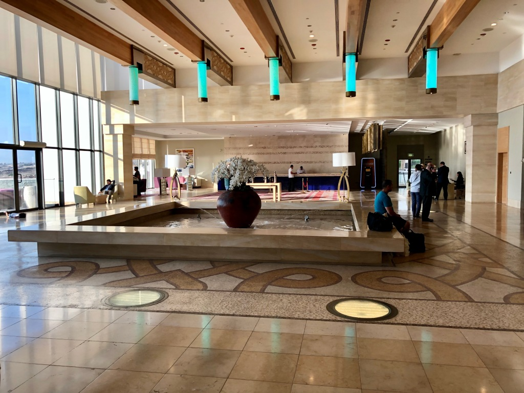 Hilton Dead Sea Resort and Spa lobby
