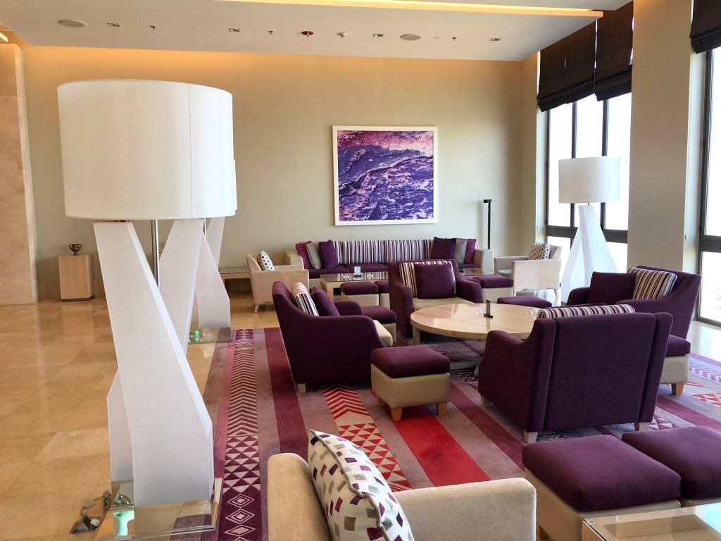 Hilton Dead Sea Resort and Spa lobby seating