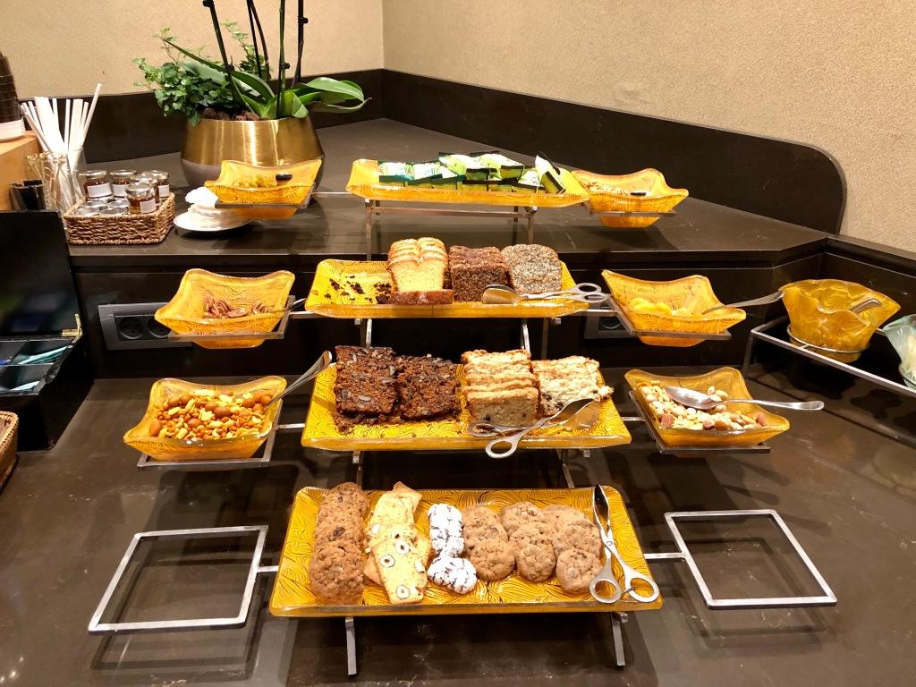 Executive Lounge dessert
