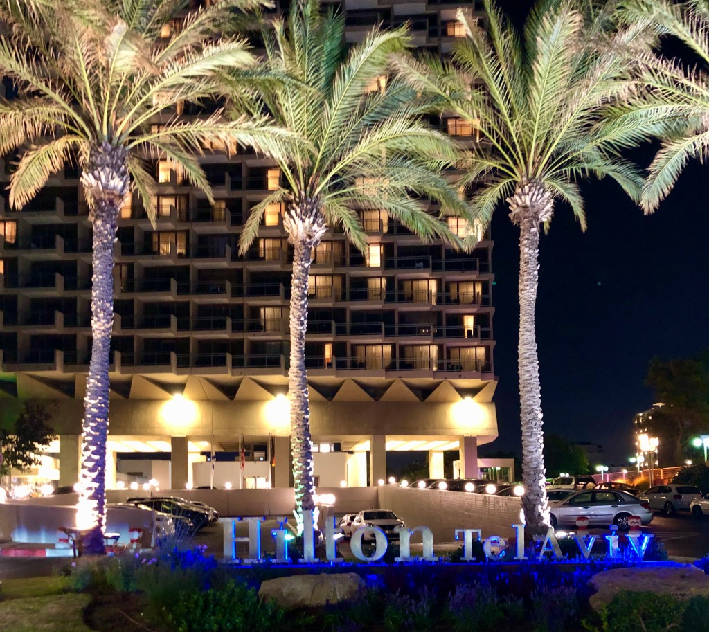 Hilton Tel Aviv entrance