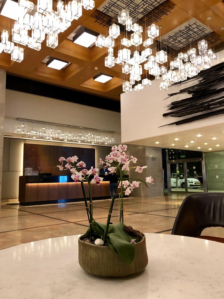 Hilton Tel Aviv lobby