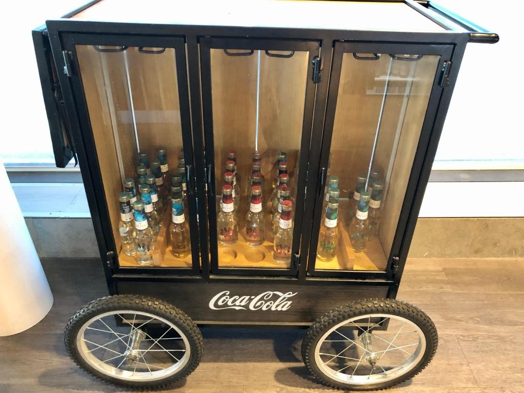 Coca-Cola Royal Bliss bar cart