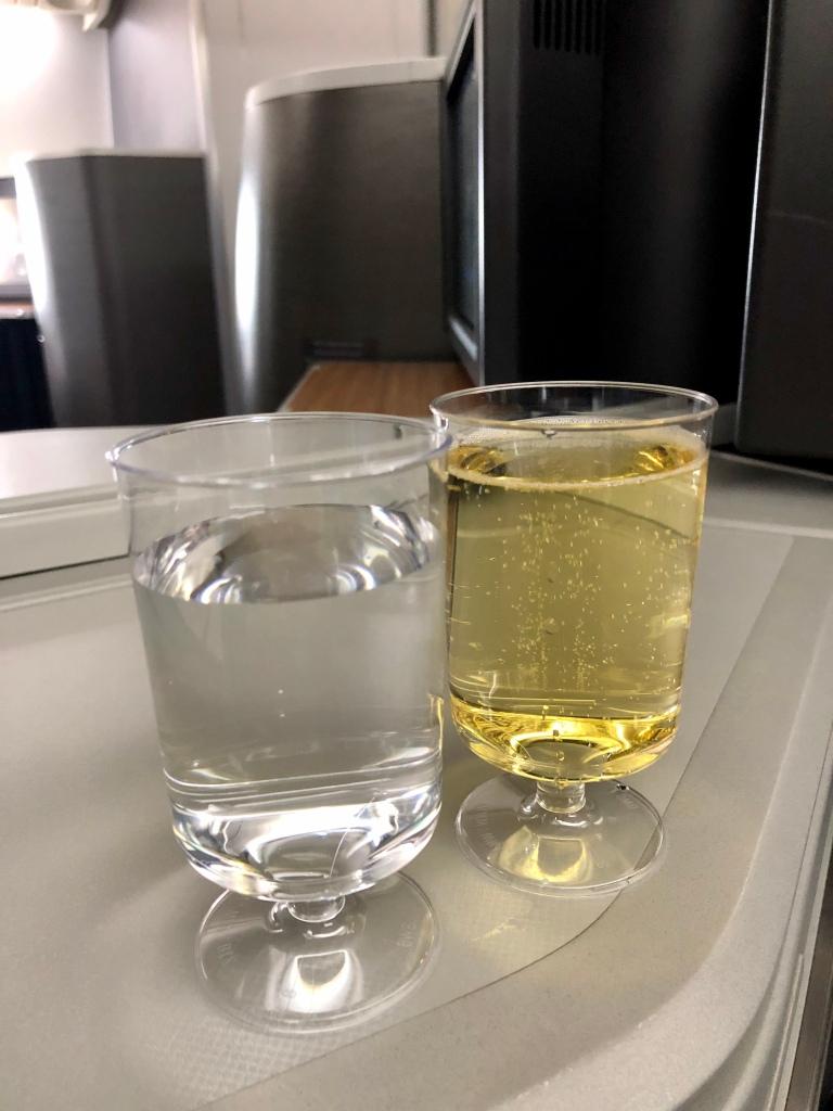 """Pre-departure beverages (""""PDBs"""")"""