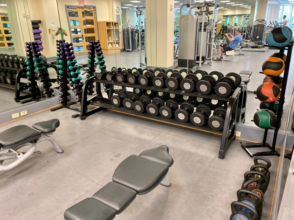 Fitness Center- free weights
