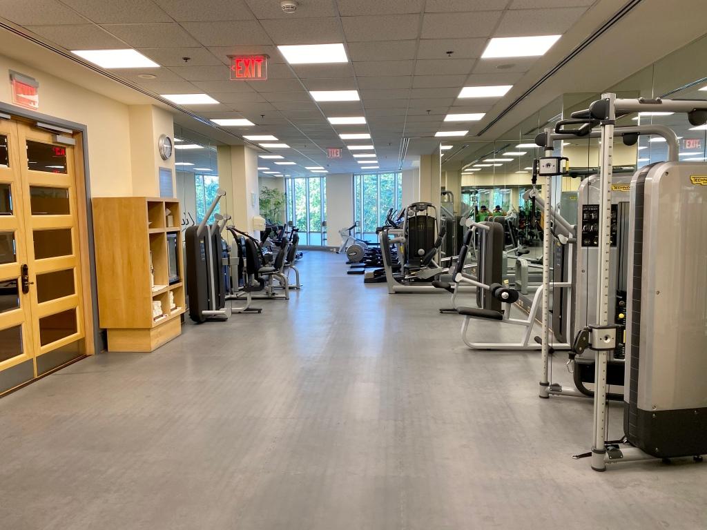 Fitness Center - weight machines