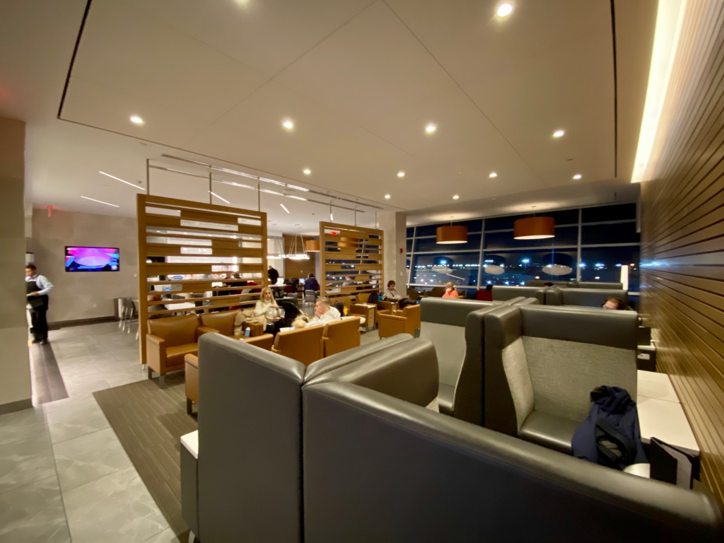 Flagship Bridge seating area
