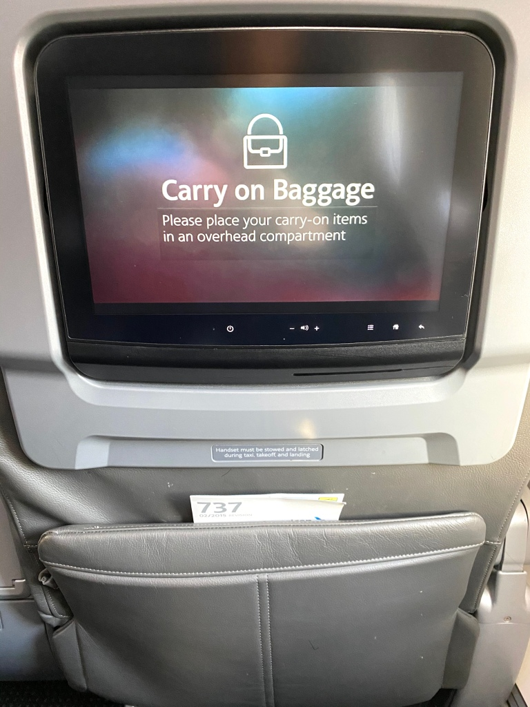 "In-flight entertainment system (""IFE"")"