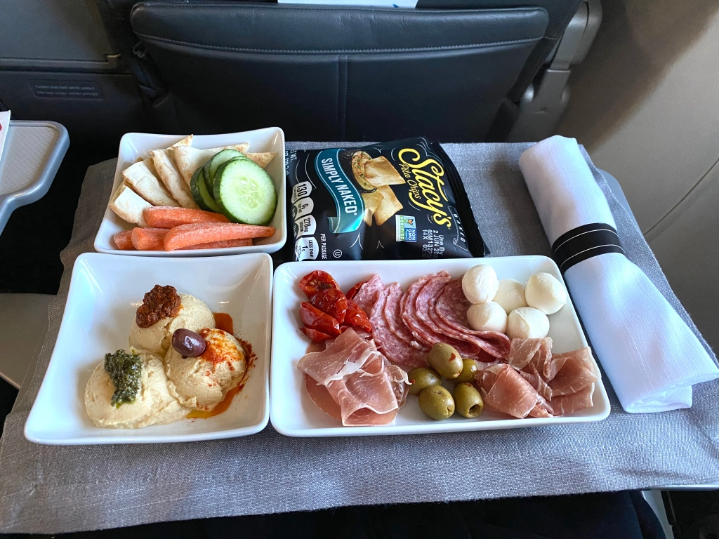 Zoës Kitchen charcuterie cold plate