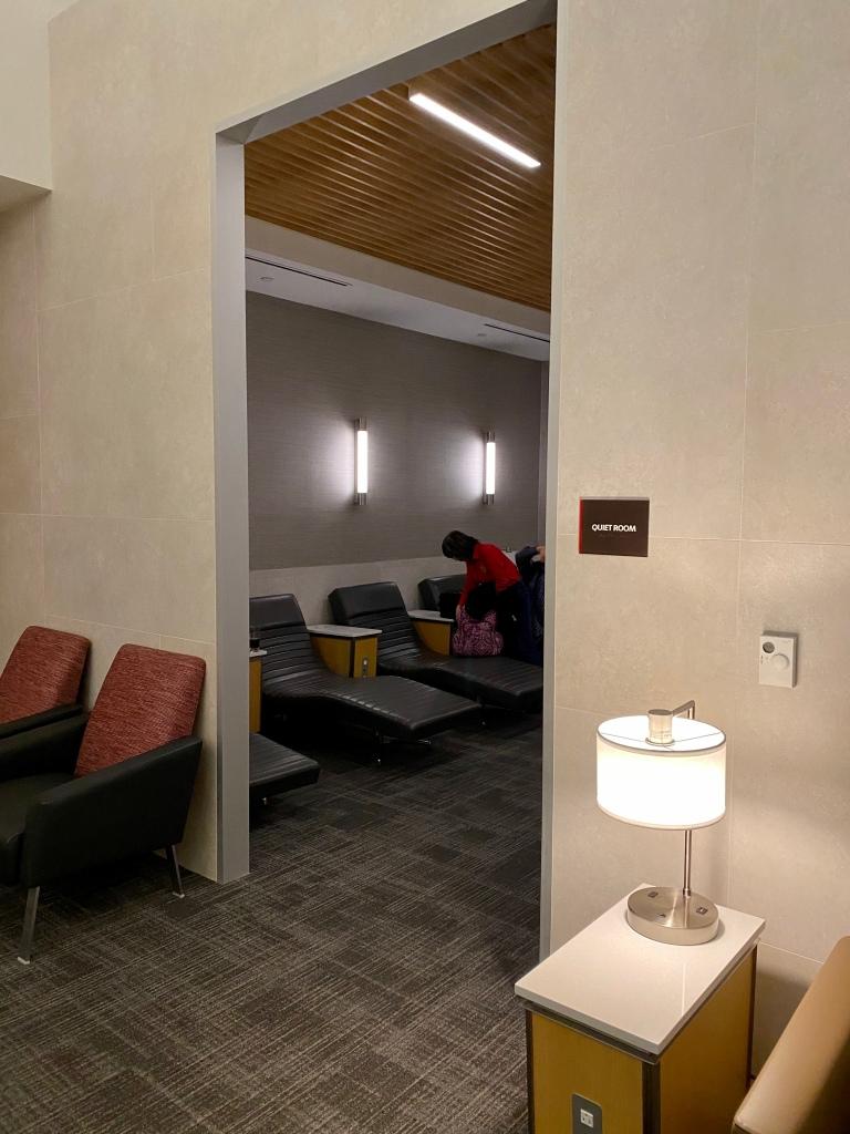Quiet Room entrance