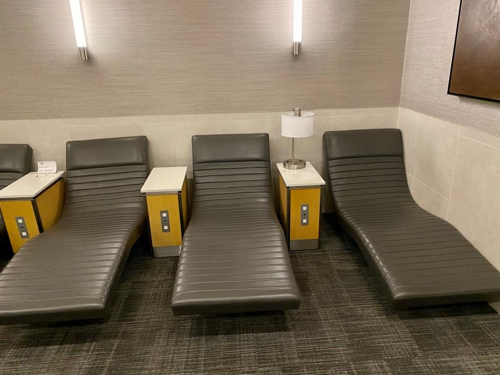 Quiet Room loungers