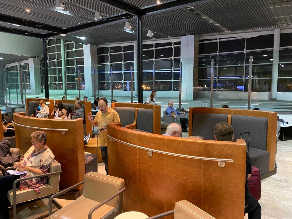 LATAM VIP Lounge seating