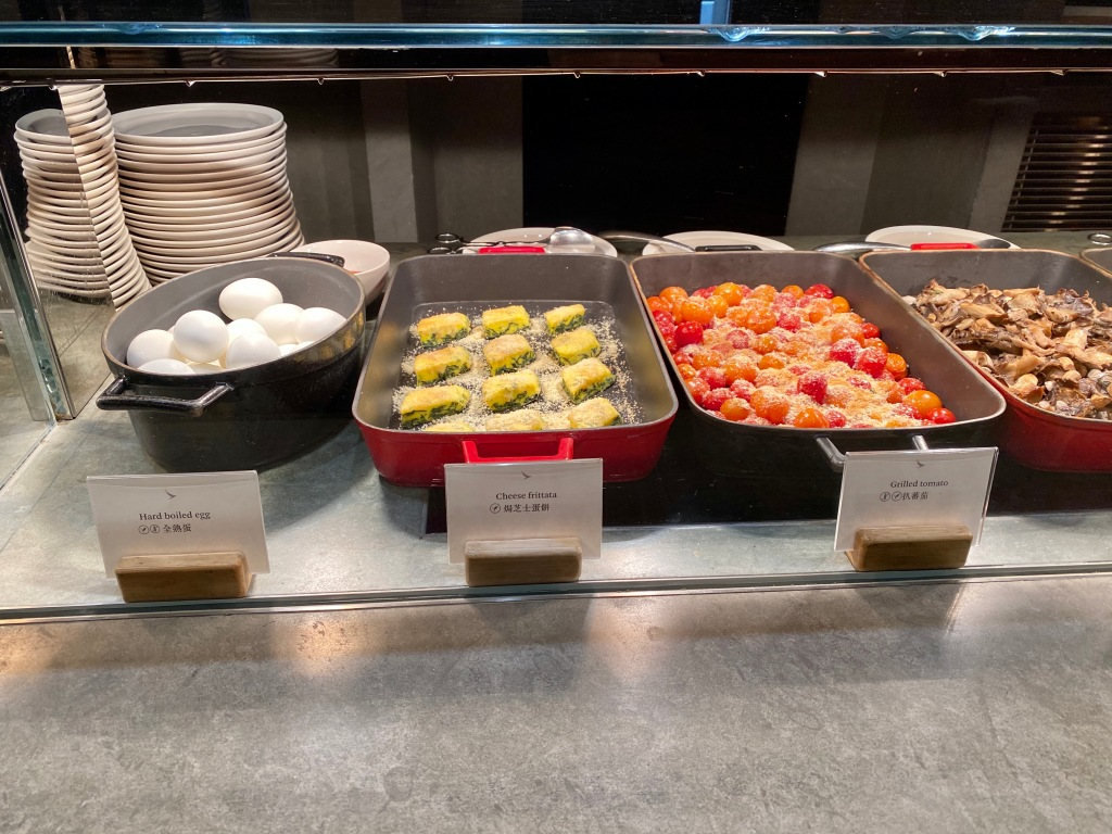Hot buffet items