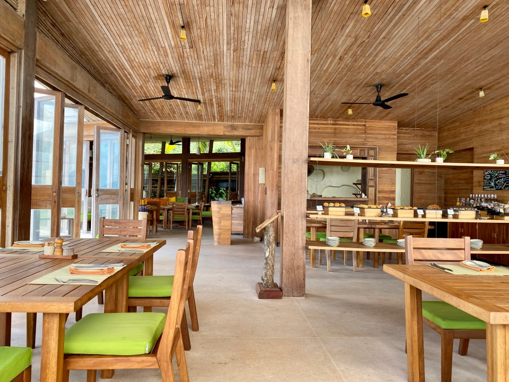 By the Beach Restaurant - Six Senses Con Dao