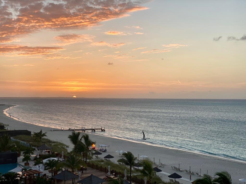 Sunset in Grace Bay